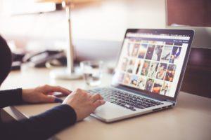 Webshop Betreuung